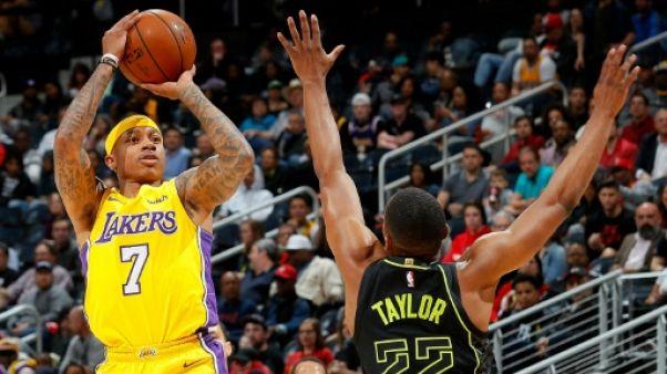 NBA: probable fin de saison pour Thomas avec les les Lakers, opéré à la hanche