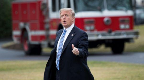 """Diplomatie: Trump tient des victoires d'étape mais n'a pas encore remporté ses """"paris"""""""