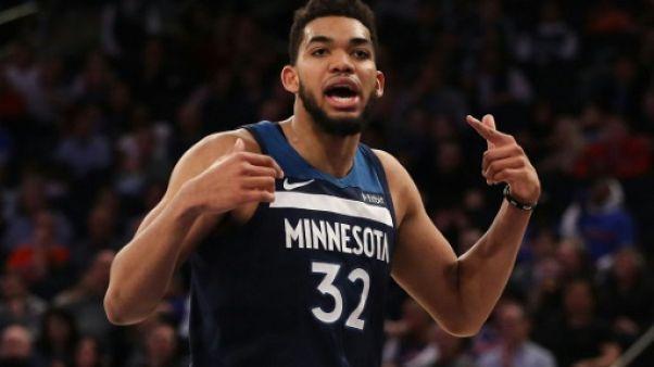 NBA: avec Towns et James, déjà un petit air de play-offs