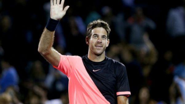 Tennis: Del Potro laisse passer l'orage Raonic à Miami