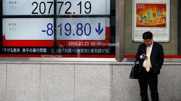 المؤشر نيكي يرتفع 1.10% في بداية التعاملات بطوكيو