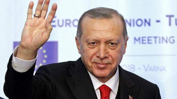 إردوغان: تركيا بدأت الإعداد لمزيد من العمليات في شمال سوريا
