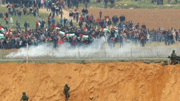Gaza: affrontements entre Palestiniens et soldats israéliens près de la frontière