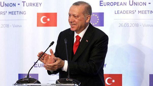 إردوغان: تركيا ستحبط ما يحاك حولها وستحقق نموا قويا