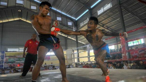 En Birmanie, des combats de boxe pour proclamer la fin de la crise des Rohingyas