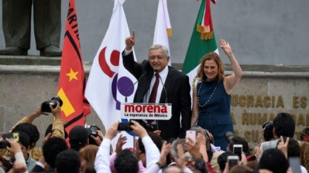 La course présidentielle démarre au Mexique avec la gauche en tête