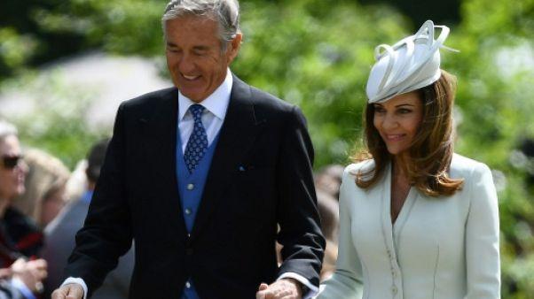 """David Matthews, beau-père de Pippa Middleton, mis en examen à Paris pour """"viol sur mineure"""""""