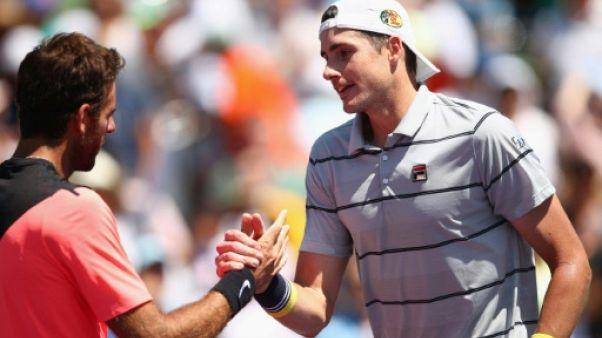 Tennis: Isner terrasse Del Potro et fonce en finale à Miami