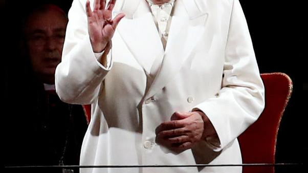 البابا يحتفل بالجمعة العظيمة وسط إجراءات أمن مشددة