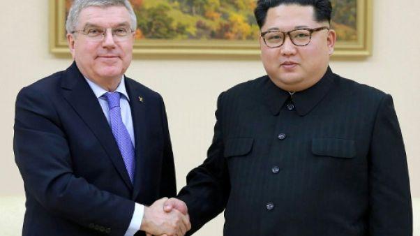 Corée du Nord: rencontre entre Kim Jong Un et le président du CIO (KCNA)
