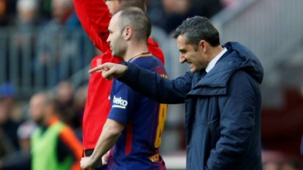 Espagne: le Barça à Séville, le mois d'avril sur un fil