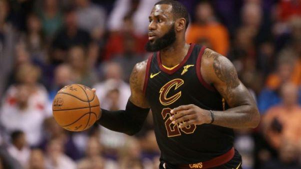 NBA: un record de plus pour LeBron James, une chance de moins pour les Clippers