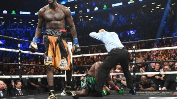 Boxe: Wilder crée la polémique en espérant ajouter un mort à son palmarès