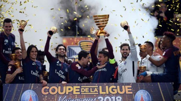 Coupe de la Ligue: cinq à la suite pour Paris, encore intouchable face à Monaco