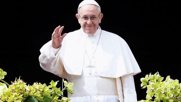 """بعد العنف في غزة.. البابا يقول """"المسالمون""""  قتلوا في الأرض المقدسة"""