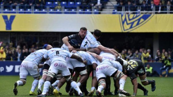 Rugby: le Racing 92 en demi-finales de Coupe d'Europe après avoir battu Clermont