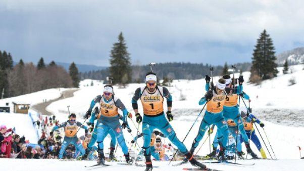Ski nordique: à Prémanon, une fête et de l'émotion pour célébrer les médaillés olympiques