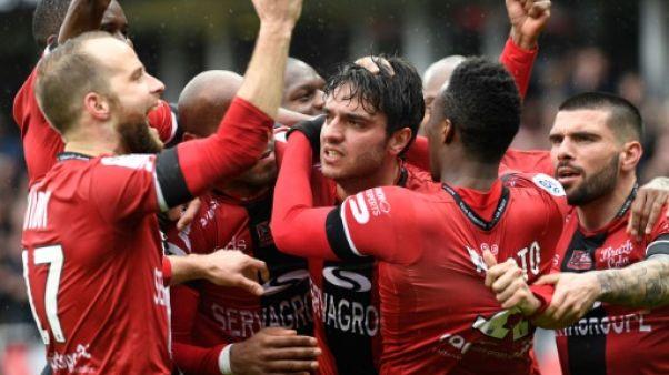 Ligue 1: Guingamp se donne de l'air face à Bordeaux