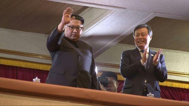 Concert de K-pop sud-coréenne à Pyongyang pour Kim Jong Un