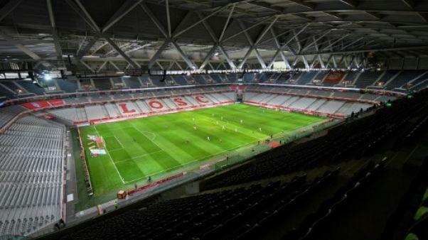 Ligue 1: Lille coule à huis clos, Lyon-Toulouse à suivre