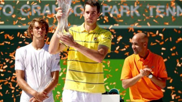 Tennis: vainqueur à Miami, Isner entre dans la cour des grands