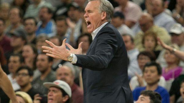 NBA: avertissement pour Houston, soulagement pour San Antonio