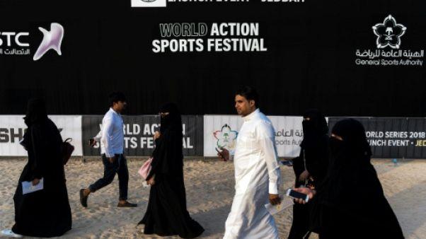 Festival sports extrêmes: rencontre choc entre riders déjantés et Saoudiens ultraconservateurs