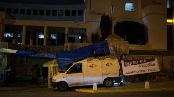 Grèce: des médias toujours plus sinistrés, lâchés par les banques