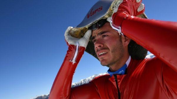 Ski de vitesse: Simon Billy, une chute et un retour