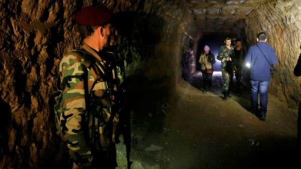 Dans la Ghouta, un labyrinthe de tunnels souterrains creusés par les rebelles