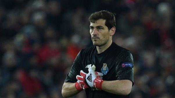 Porto: Casillas dispute le 1000e match de sa carrière