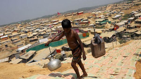 مستشارون: الأمطار الموسمية قد تسقط عددا كبيرا من الوفيات بين لاجئي ميانمار
