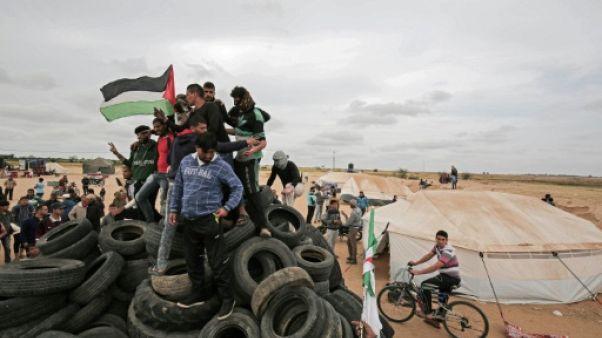 Gaza: un Palestinien tué par des tirs de soldats israéliens