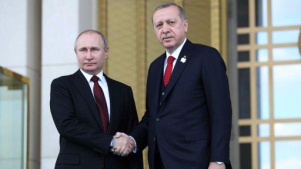 Erdogan et Poutine lancent la construction de la première centrale nucléaire de Turquie