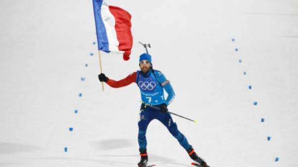 "Biathlon: Fourcade ""surpris"" par la retraite de Bjoerndalen"