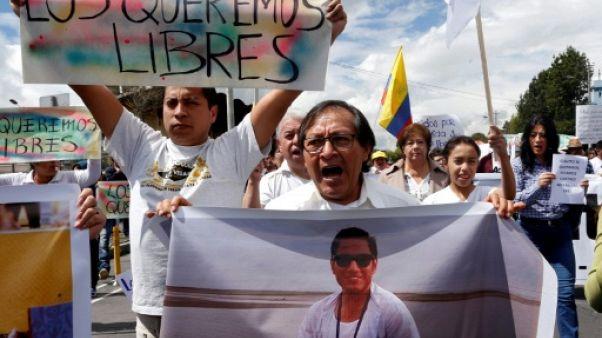 L'Equateur sous le choc après la diffusion d'une vidéo de journalistes enlevés