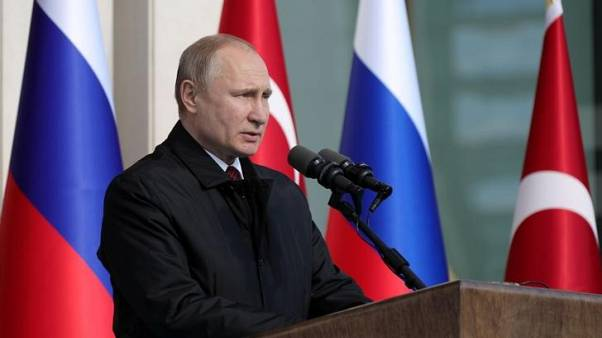 Image result for Russia's Putin says Islamic State destroyed in Syria