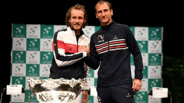 "Tennis: ""Lucas (Pouille) a montré son attachement à la Coupe Davis"" estime son entraîneur"