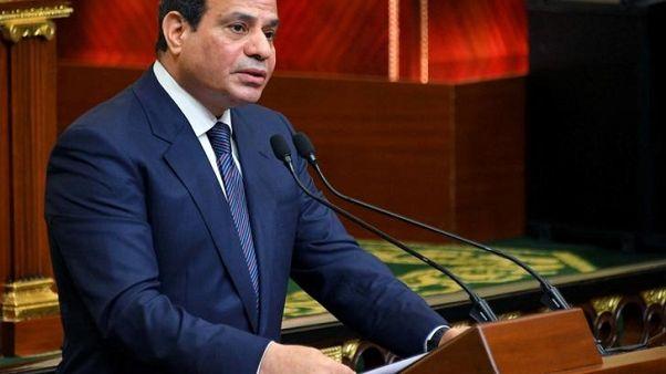 الرئيس المصري يصدر عفوا عن 712 سجينا