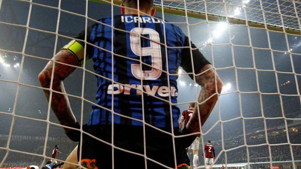 ايكاردي يهدر فرصة والمرمى مفتوح في التعادل مع ميلانو في القمة