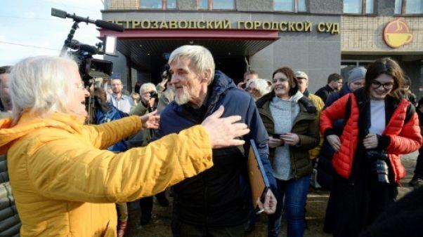 Russie: l'historien Dmitriev blanchi des accusations de pédopornographie