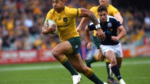 """Rugby: la star australienne Israel Folau estime que les homosexuels doivent aller en """"enfer"""""""