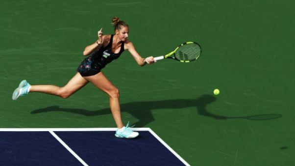 Tennis: Kristyna Pliskova élimine Kvitova dans un duel 100% tchèque à Charleston