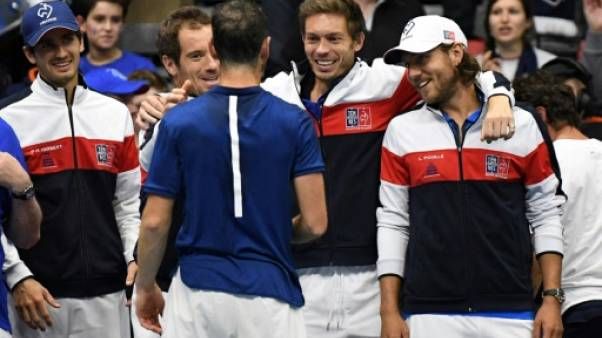 Coupe Davis: Chardy avec Pouille en simple vendredi face à l'Italie