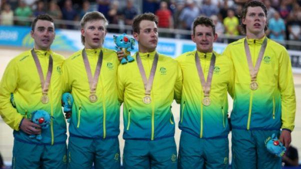 Jeux du Commonwealth: titre et record du monde pour l'Australie en cyclisme sur piste