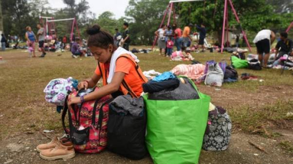 Mexique: la caravane de migrants se disperse avant la frontière américaine