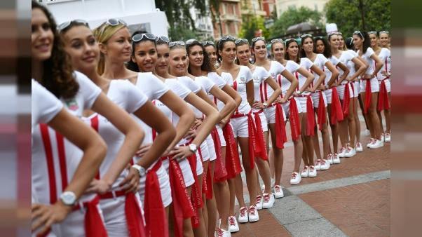 """F1: le patron de l'Automobile Club promet que les """"grid girls"""" seront là pour le GP de Monaco"""