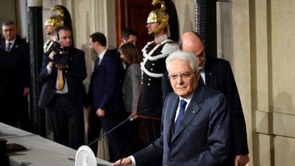 Italie: pas d'accord sur un gouvernement, nouveau round de discussions