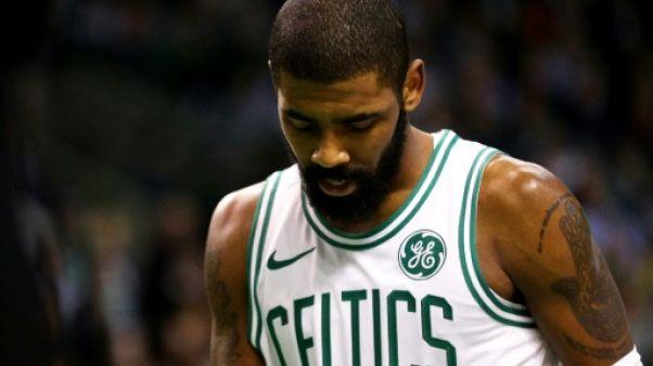 NBA: coup dur pour Boston, privé d'Irving pour les play-offs