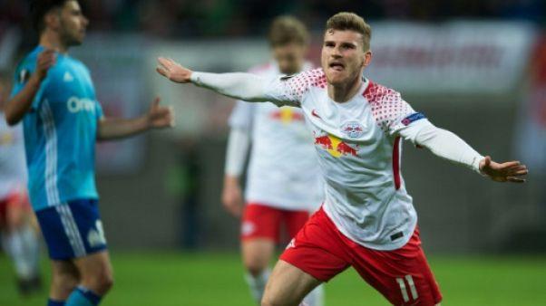 Europa League: l'OM trop court à Leipzig, Arsenal facile